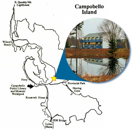 Campobello Island Map
