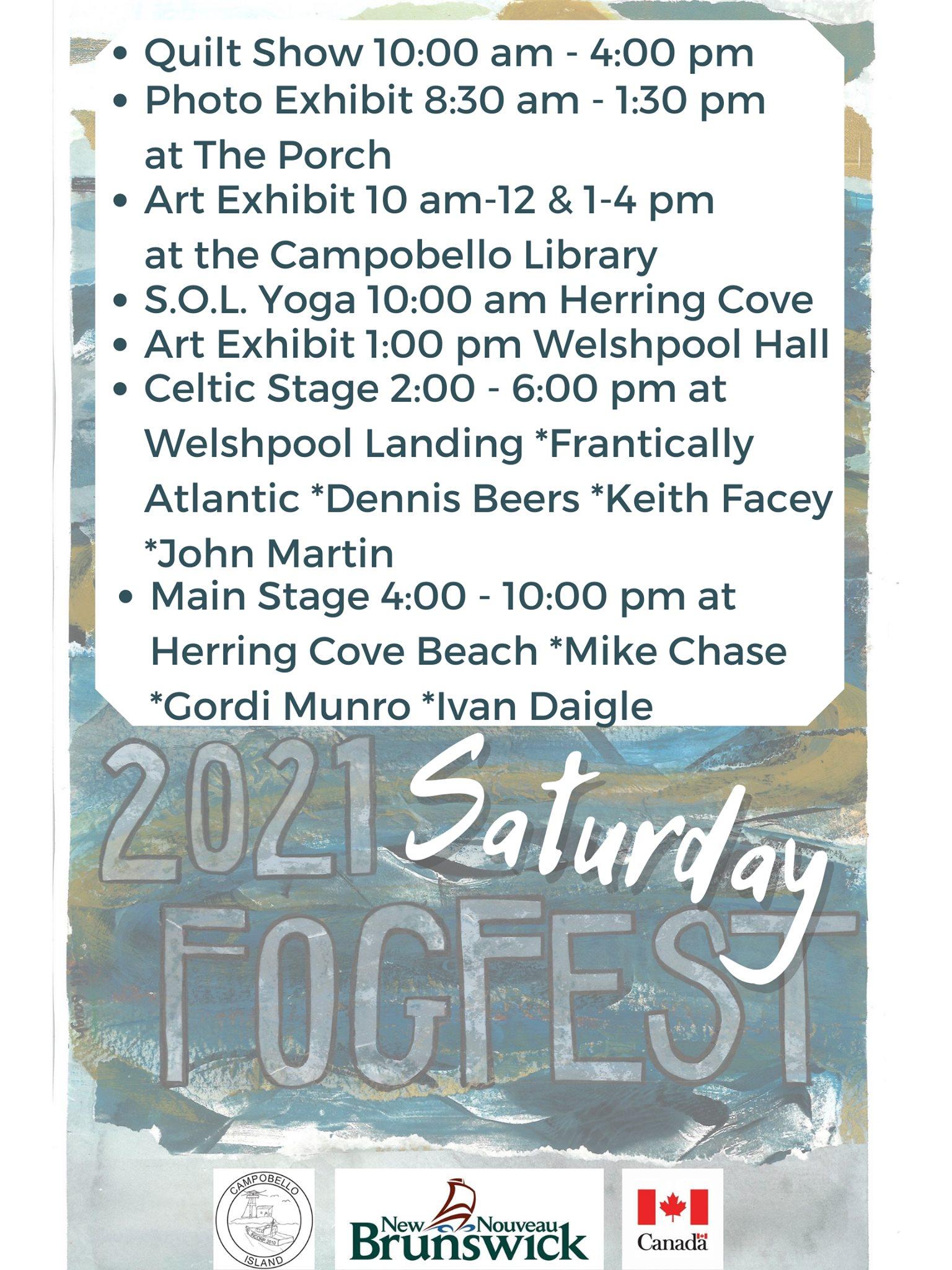 Fogfest - Saturday