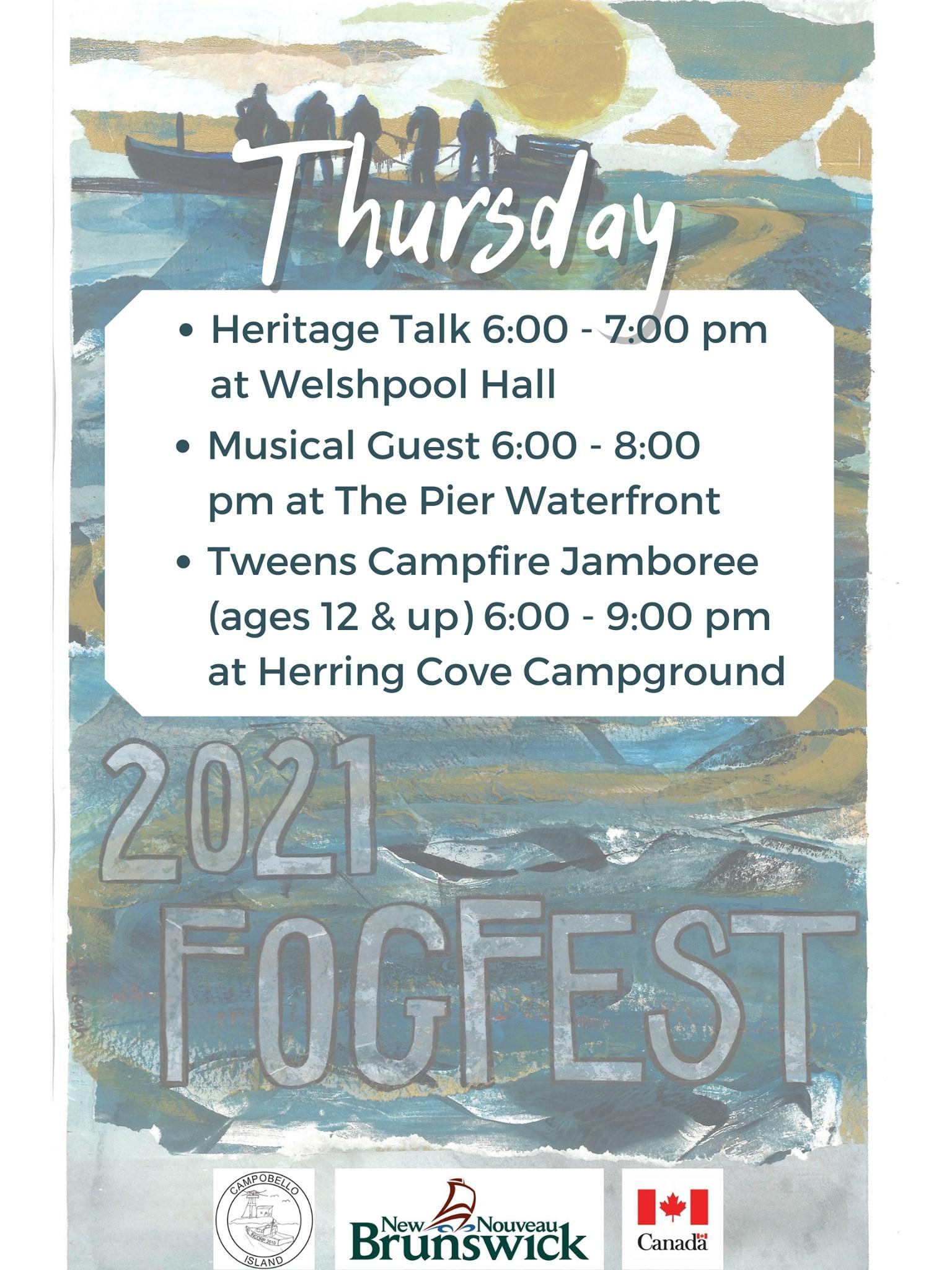 Fogfest - Thursday